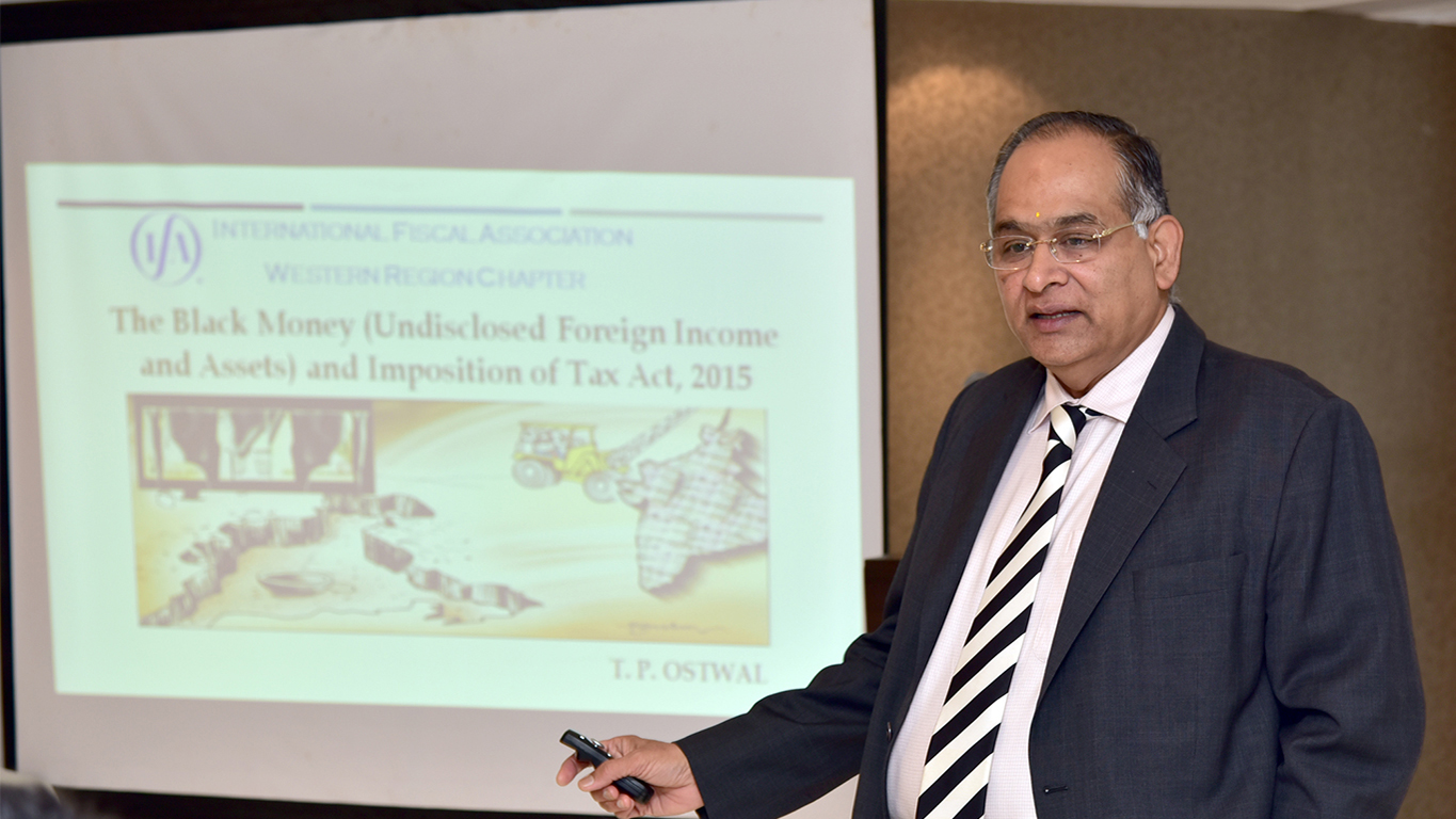 Seminar Meeting on The Black Money (Undisclosed Foreign Income and Assets) and Imposition of Tax Act, 2015